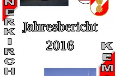 Jahresbericht für das Jahr 2016 ist online