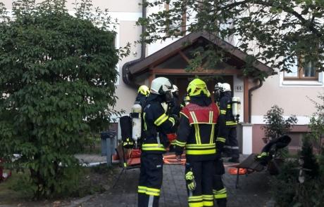Atemschutzübung in Meggenhofen