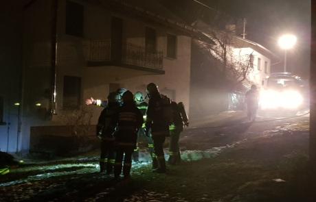 Einsatzübung: Scheunen- und Wohnhausbrand