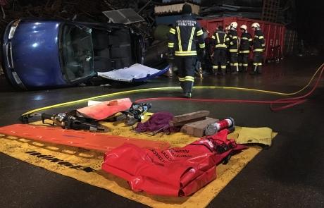 Ein Abend – Vier Verkehrsunfälle